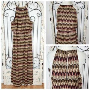 Boston Proper sparkly maxi dress size 18